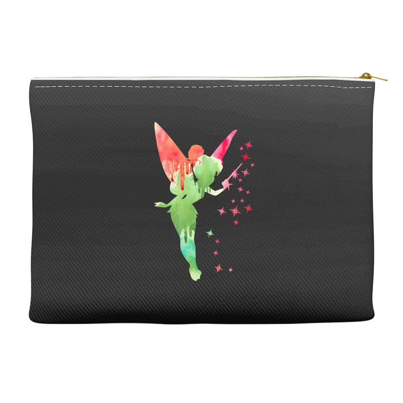 Tinkerbell Watercolor Accessory Pouches | Artistshot