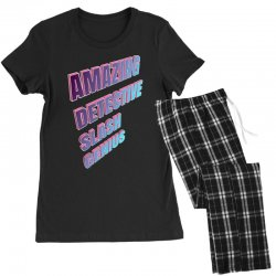 amazing detective slash genius for dark Women's Pajamas Set | Artistshot