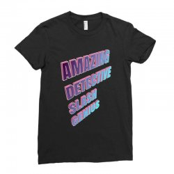 amazing detective slash genius for dark Ladies Fitted T-Shirt | Artistshot