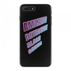 amazing detective slash genius for dark iPhone 7 Plus Case | Artistshot