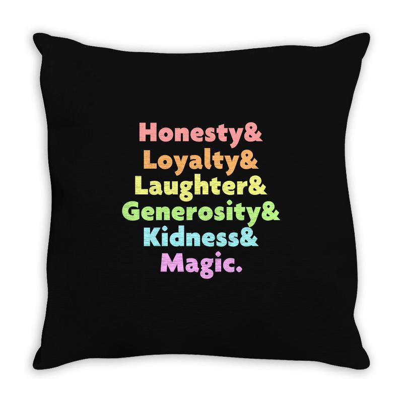 My Little Pony Throw Pillow | Artistshot