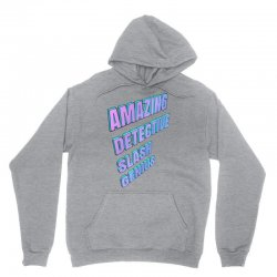 amazing detective slash genius for light Unisex Hoodie | Artistshot