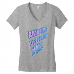 amazing detective slash genius for light Women's V-Neck T-Shirt | Artistshot