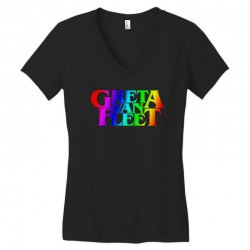 greta van fleet Women's V-Neck T-Shirt | Artistshot