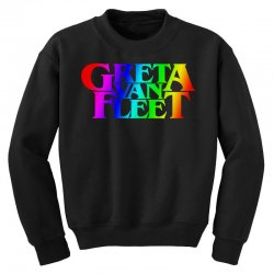 greta van fleet Youth Sweatshirt | Artistshot