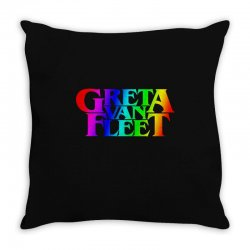 greta van fleet Throw Pillow | Artistshot