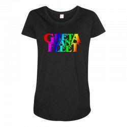 greta van fleet Maternity Scoop Neck T-shirt | Artistshot