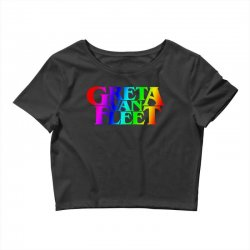 greta van fleet Crop Top | Artistshot
