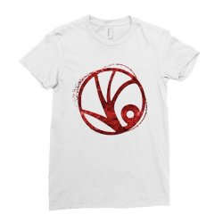 spyglass symbol Ladies Fitted T-Shirt | Artistshot