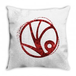 spyglass symbol Throw Pillow | Artistshot