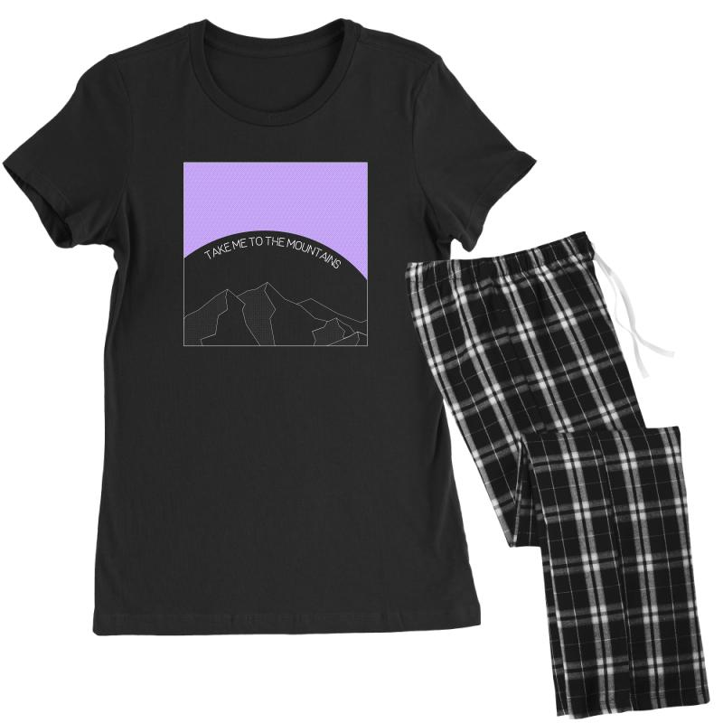 Take Me To The Mountains For Dark Women's Pajamas Set | Artistshot