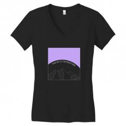 take me to the mountains for dark Women's V-Neck T-Shirt | Artistshot