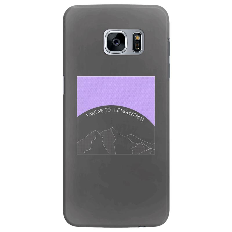 Take Me To The Mountains For Dark Samsung Galaxy S7 Edge Case | Artistshot