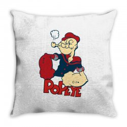 popeye Throw Pillow | Artistshot
