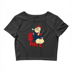 popeye Crop Top | Artistshot