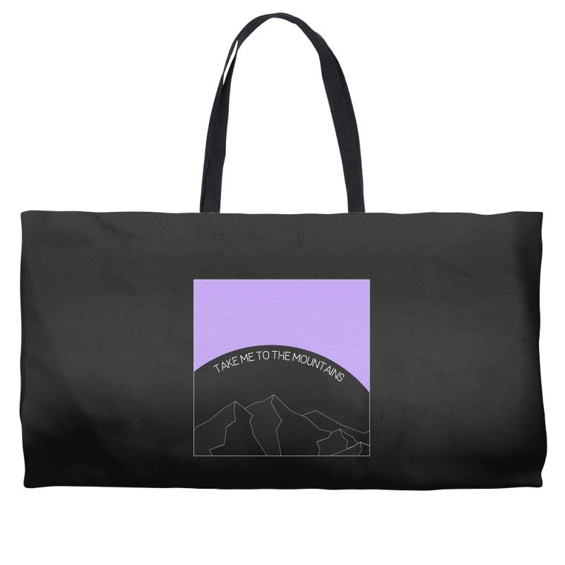 Take Me To The Mountains For Dark Weekender Totes | Artistshot