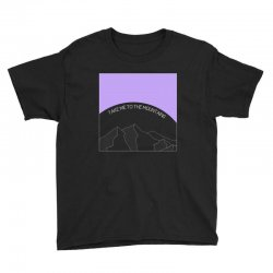 take me to the mountains for dark Youth Tee | Artistshot