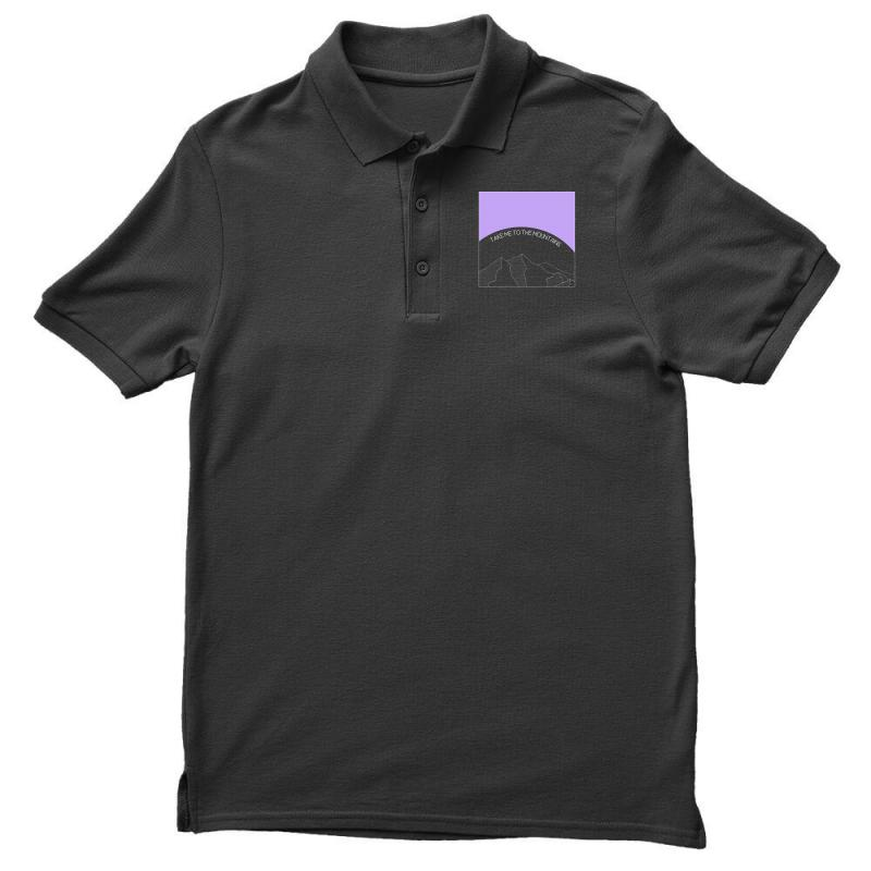Take Me To The Mountains For Dark Men's Polo Shirt | Artistshot