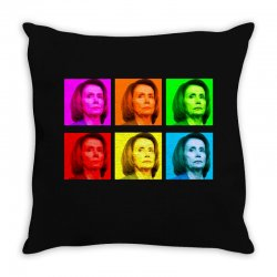 madam speaker pelosi Throw Pillow | Artistshot
