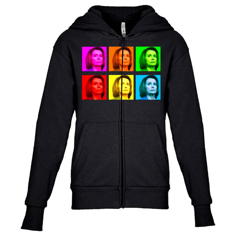 Madam Speaker Pelosi Youth Zipper Hoodie | Artistshot