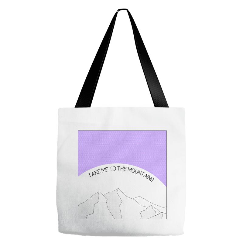 Take Me To The Mountains For Light Tote Bags   Artistshot