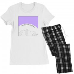 take me to the mountains for light Women's Pajamas Set | Artistshot