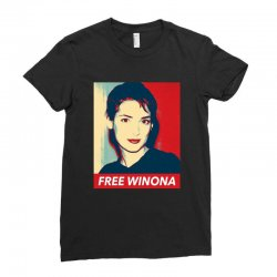 free winona Ladies Fitted T-Shirt | Artistshot