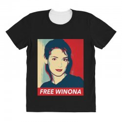 Custom Free Winona Ladies Fitted T Shirt By Sengul Artistshot
