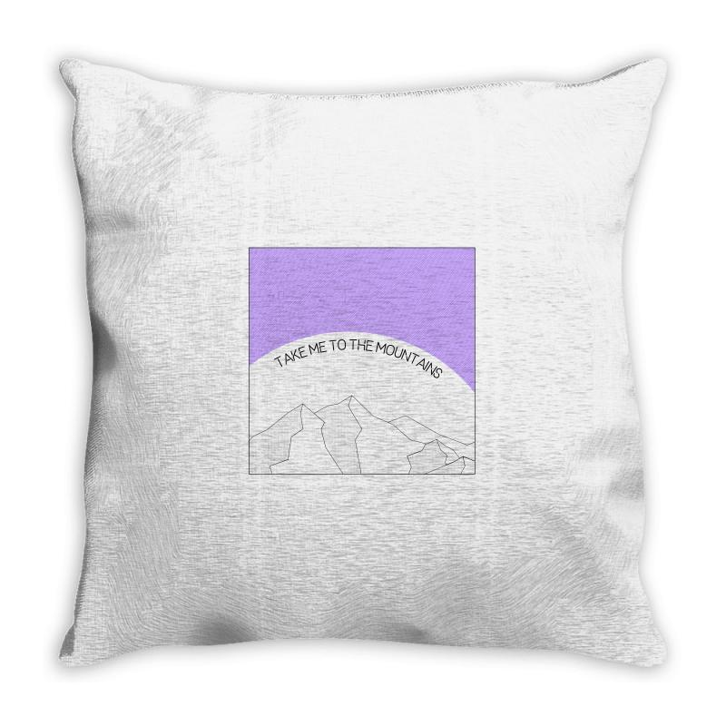 Take Me To The Mountains For Light Throw Pillow | Artistshot