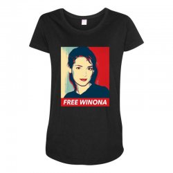 free winona Maternity Scoop Neck T-shirt | Artistshot