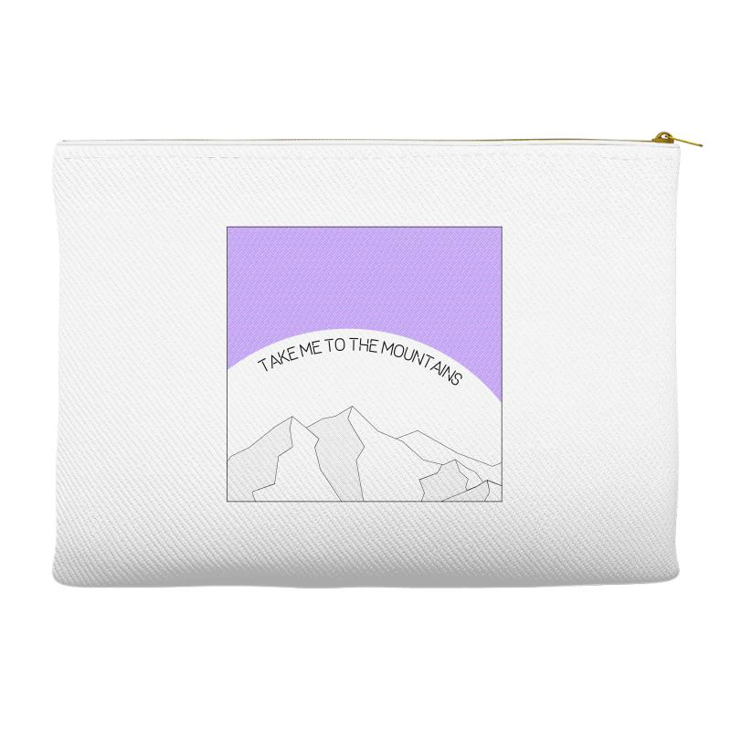 Take Me To The Mountains For Light Accessory Pouches | Artistshot
