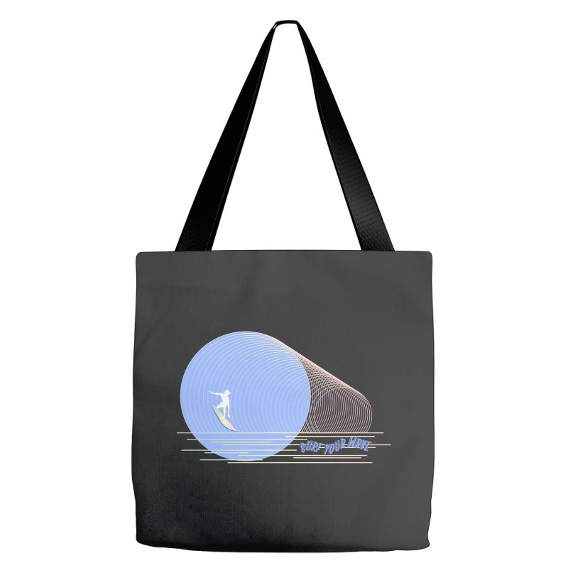 Surfing Boy Abstract Tote Bags | Artistshot