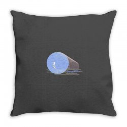 surfing boy abstract Throw Pillow | Artistshot