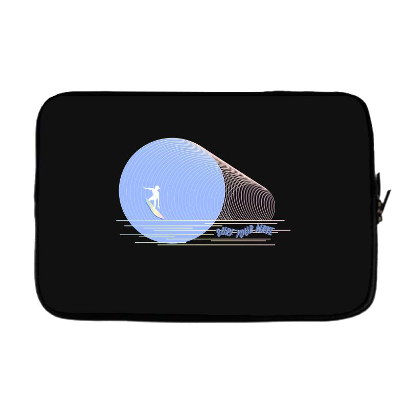 Surfing Boy Abstract Laptop Sleeve | Artistshot