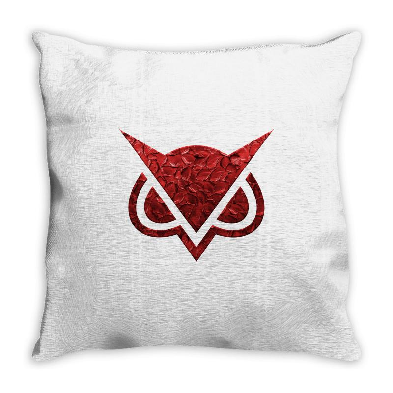 Vanoss Symbol Red Effect Throw Pillow | Artistshot