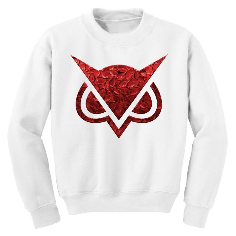 Vanoss Symbol Red Effect Youth Sweatshirt | Artistshot