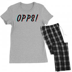 opps glitch Women's Pajamas Set | Artistshot