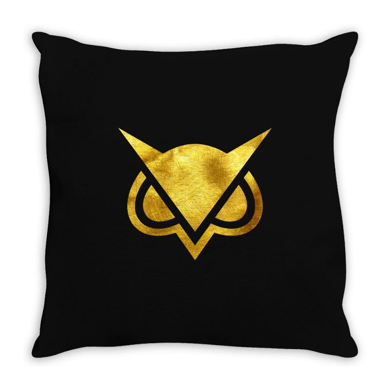 Vanoss Symbol Gold Throw Pillow | Artistshot