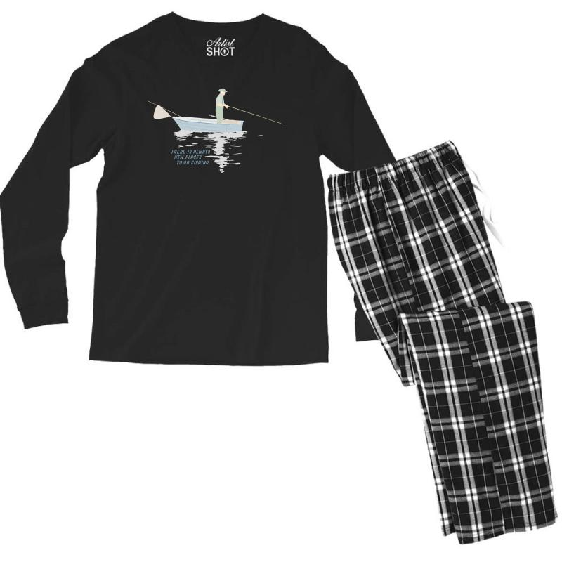 Fisherman Men's Long Sleeve Pajama Set | Artistshot