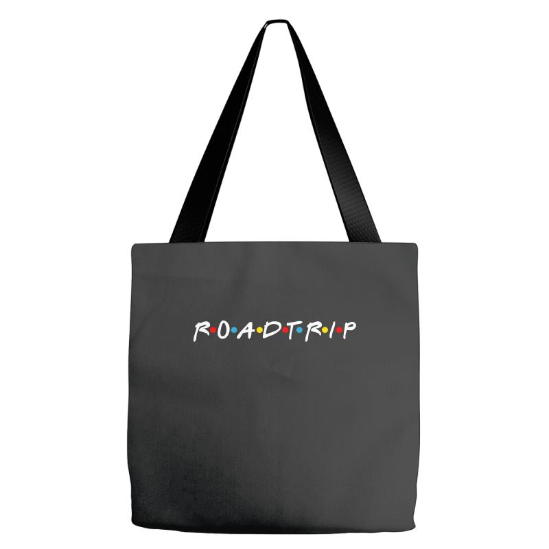 Roadtrip Friends Parody For Dark Tote Bags | Artistshot