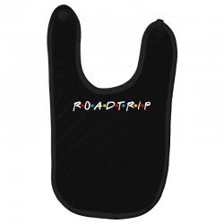 roadtrip friends parody for dark Baby Bibs | Artistshot