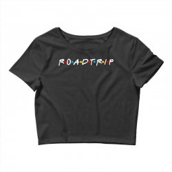 roadtrip friends parody for dark Crop Top | Artistshot