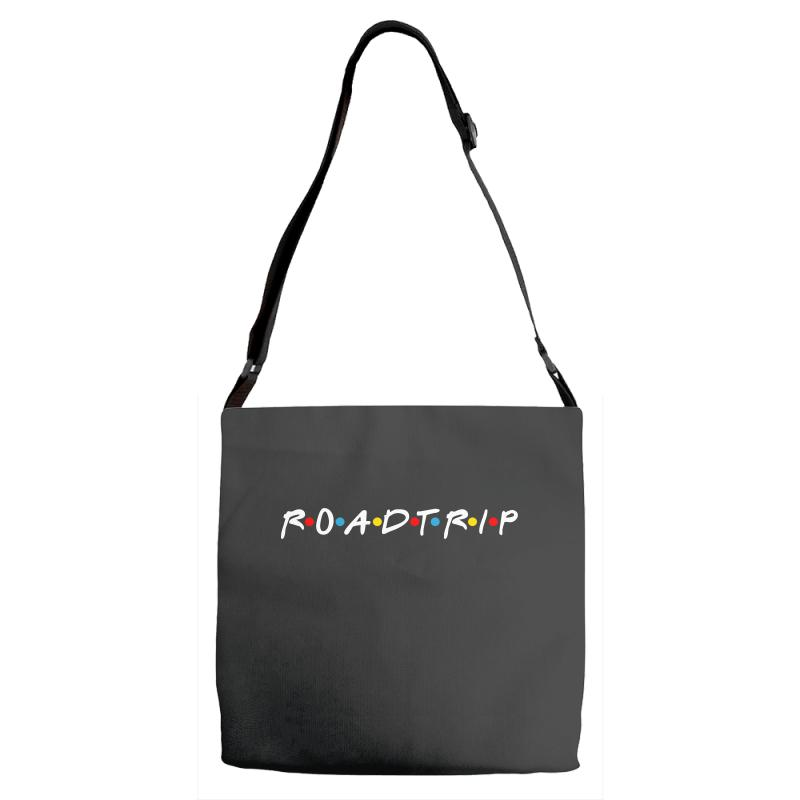 Roadtrip Friends Parody For Dark Adjustable Strap Totes | Artistshot