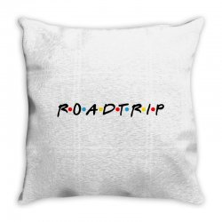 roadtrip friends parody for light Throw Pillow | Artistshot