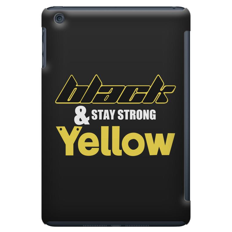 Black And Stay Strong Yellow Ipad Mini Case | Artistshot