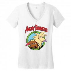 angry beavers Women's V-Neck T-Shirt | Artistshot
