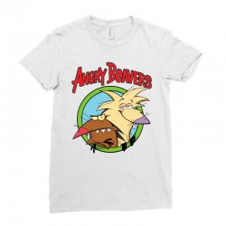 angry beavers Ladies Fitted T-Shirt | Artistshot