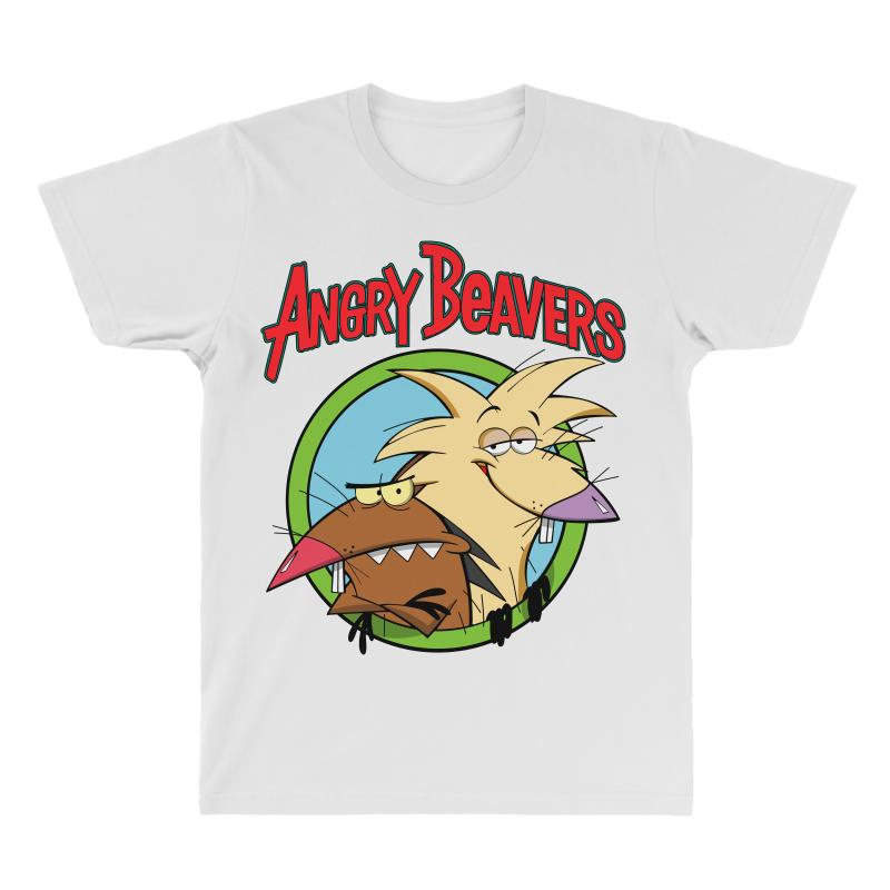Angry Beavers All Over Men's T-shirt | Artistshot