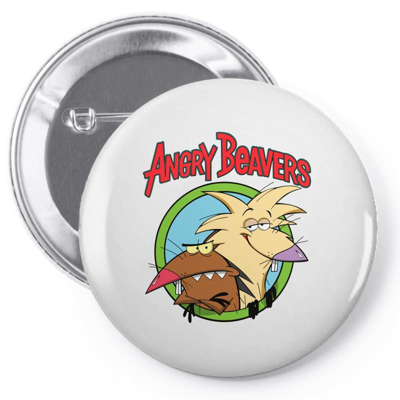 Angry Beavers Pin-back Button | Artistshot