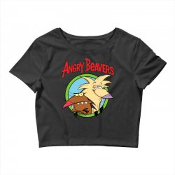 angry beavers Crop Top | Artistshot